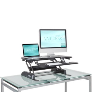 The Varidesk Pro Plus.